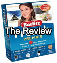 Berlitz French Premier Review - Language Software