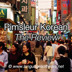 Pimsleur Korean - The Review