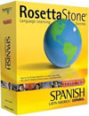 Small box shot of Rosetta Stone Spanish