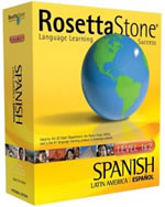rosetta stone spanish box shot